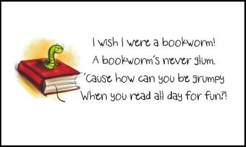 I wish I were a bookworm
