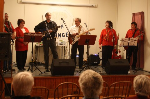 The Friends Band donated their time and talent... thank you!
