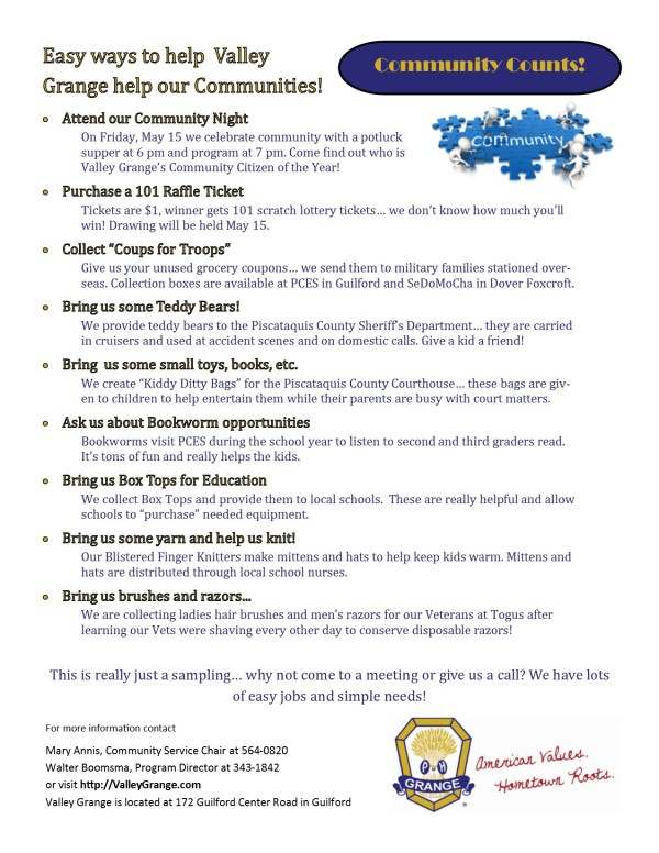 Community Counts Flyer