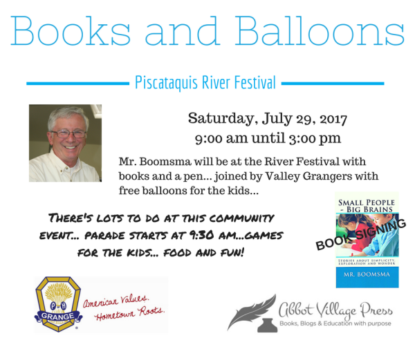 Books and Balloons 2017
